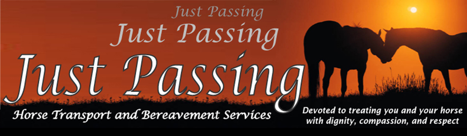 Just Passing Horse Transport & Bereavement Services